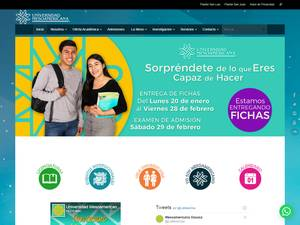 Universidad Mesoamericana Screenshot