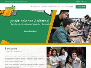 Universidad Alva Edison Screenshot