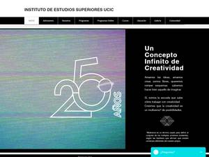 Universidad de las Ciencias de la Comunicación de Puebla S.C.'s Website Screenshot