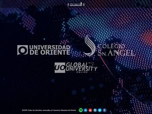 Universidad de Oriente, Mexico's Website Screenshot