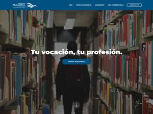 Universidad Realística de México's Website Screenshot