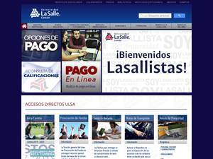 Universidad La Salle Cancún A.C. Screenshot