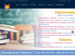 Universidad Catolica de Culiacan A.C. Screenshot