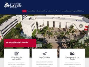Universidad La Salle Noroeste A.C.'s Website Screenshot