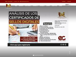 Universidad de Xalapa A.C.'s Website Screenshot