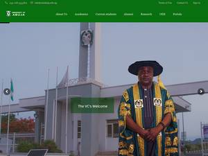 University of Abuja Screenshot