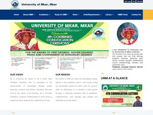 University of Mkar Screenshot