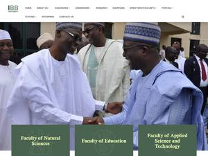 Ibrahim Badamasi Babangida University Screenshot