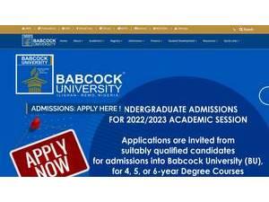 Babcock University | Ranking & Review