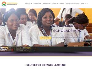 Joseph Ayo Babalola University's Website Screenshot