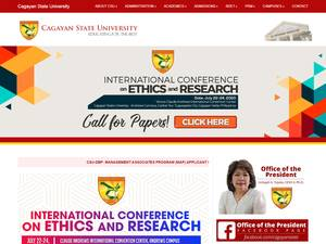 Cagayan State University Screenshot