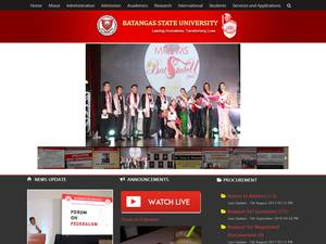 Batangas State University Screenshot