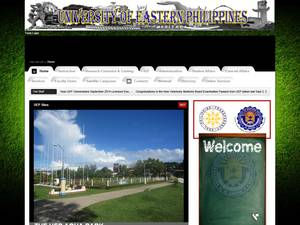 University of Eastern Philippines Screenshot