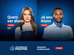 Universidade Positivo's Website Screenshot