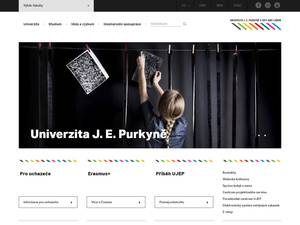 Jan Evangelista Purkyne University in Ústí nad Labem Screenshot