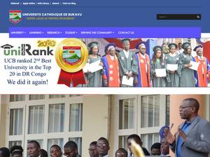 Université Catholique de Bukavu's Website Screenshot