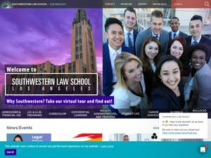 Southwestern Law School Screenshot