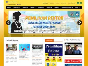 Universitas Negeri Padang Screenshot