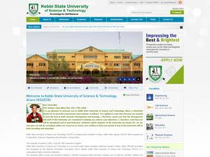 Kebbi State University of Science and Technology Screenshot