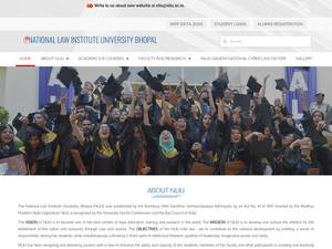 National Law Institute University Screenshot