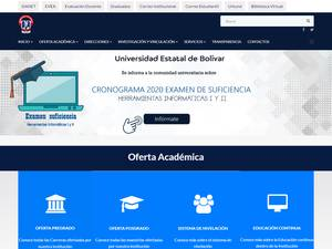 State University of Bolívar, Guaranda Screenshot