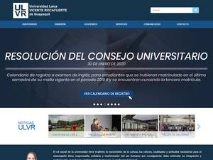 Universidad Laica Vicente Rocafuerte de Guayaquil Screenshot