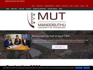 Mangosuthu University of Technology Screenshot
