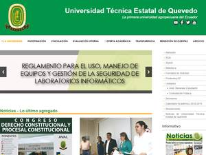 Technical State University of Quevedo Screenshot