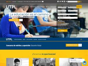 Technical University of Loja Screenshot