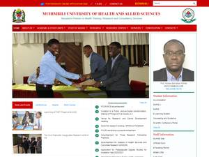 Muhimbili University of Health and Allied Sciences Screenshot