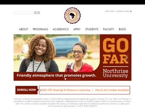 Northrise University's Website Screenshot