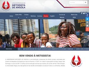Universidade Metodista de Angola Screenshot
