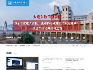 Dalian Neusoft University of Information Screenshot