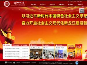 Heilongjiang University of Science and Technology's Website Screenshot
