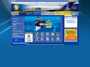 Universidad Don Bosco's Website Screenshot