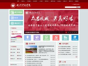 Wuhan Sports University's Website Screenshot