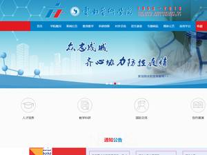 Yunnan Arts University's Website Screenshot