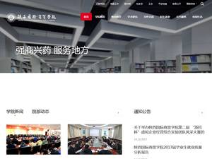 Shaanxi Institute of International Trade and Commerce's Website Screenshot