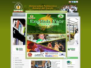 State Polytechnic University of Carchi Screenshot