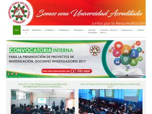 Luis Vargas Torres Technical University Screenshot