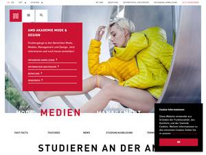 Akademie Mode and Design GmbH Screenshot