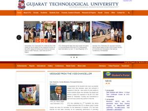 Gujarat Technological University Screenshot