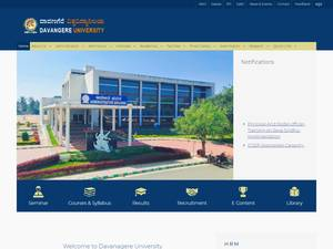 Davangere University Screenshot