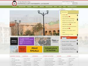 Dr. Ram Manohar Lohiya National Law University Screenshot
