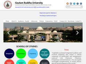 Gautam Buddha University Screenshot