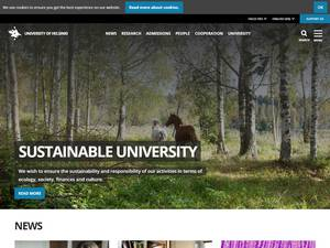 University of Helsinki Screenshot