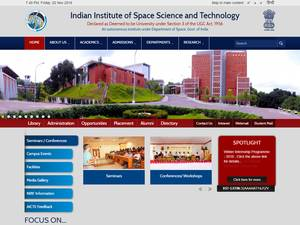 Indian Institute of Space Science and Technology Screenshot