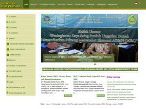 Universitas Nusa Cendana Screenshot