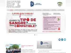 Instituto Tecnológico de Agua Prieta's Website Screenshot