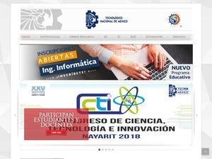Instituto Tecnológico de Bahía de Banderas's Website Screenshot